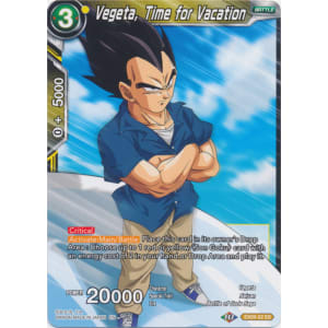 Vegeta, Time for Vacation