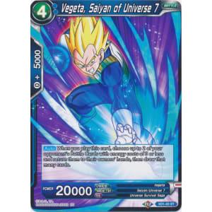 Vegeta, Saiyan of Universe 7