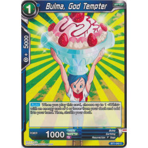 Bulma, God Tempter