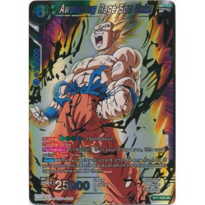 Awakening Rage Son Goku