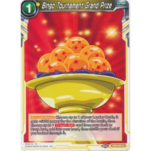 Bingo Tournament Grand Prize