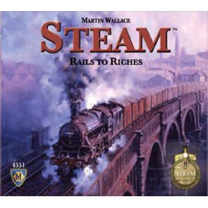 Steam: Rails to Riches Board Game