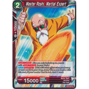 Master Roshi, Martial Expert