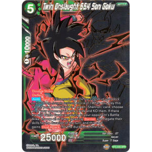 Twin Onslaught SS4 Son Goku