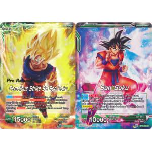 Ferocious Strike SS Son Goku / Son Goku (Prerelease Promo)