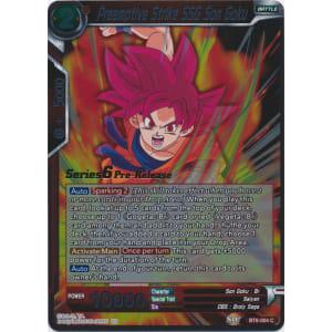 Preemptive Strike SSG Son Goku (Prerelease Promo)