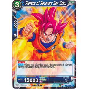 Preface of Recovery Son Goku