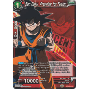 Son Goku, Prepping for Fusion (Magnificent Collection)