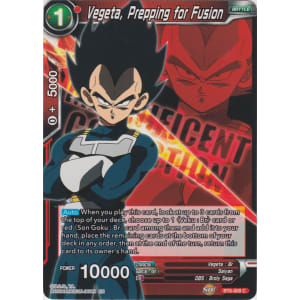 Vegeta, Prepping for Fusion (Magnificent Collection)
