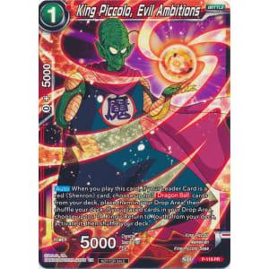 King Piccolo, Evil Ambitions