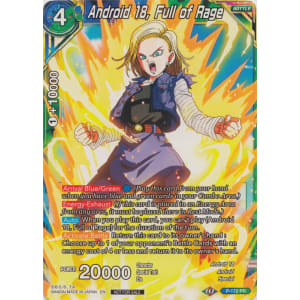 Android 18, Full of Rage