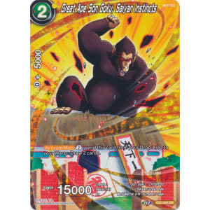 Great Ape Son Goku, Saiyan Instincts (Alternate Art)