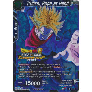 Hope at Hand Promo P-064 Trunks