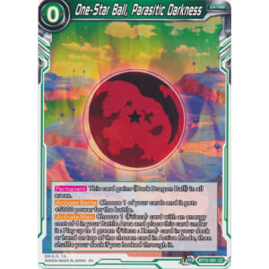 One-Star Ball, Parasitic Darkness