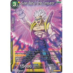 Super Baby 1 the Conqueror SD10-03 ST Dragon Ball Super TCG NEAR MINT