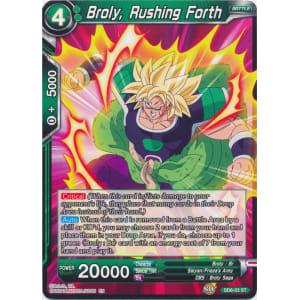 Broly, Rushing Forth