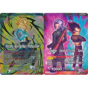 Vegeks, the Unsung Fusion Hero / Vegeta: Xeno & Trunks: Xeno