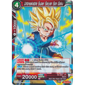 Unbreakable Super Saiyan Son Goku