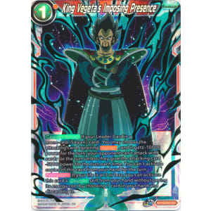King Vegeta's Imposing Presence