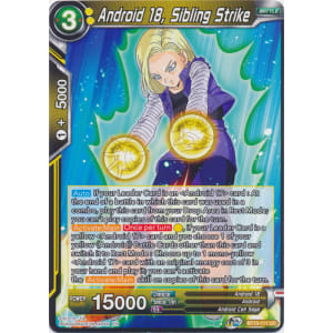 Android 18, Sibling Strike