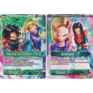 Diabolical Duo Andriods 17 & 18 / Android 17