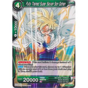 Uncommon Dragon Ball Super TCG Fully Trained Super Saiyan Son Gohan BT2-074