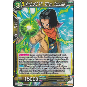 Android 17, Titan Toppler