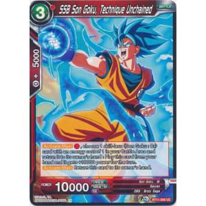 SSB Son Goku, Technique Unchained