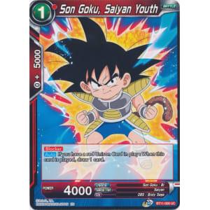 Son Goku, Saiyan Youth