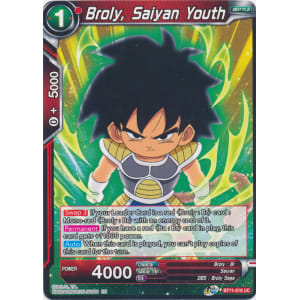 Broly, Saiyan Youth