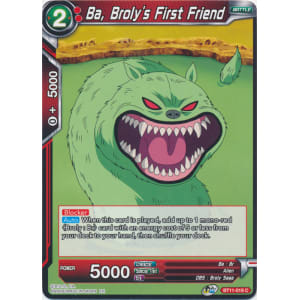 Ba, Broly's First Friend
