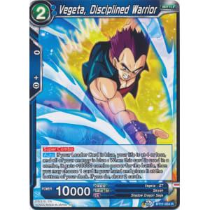 Vegeta, Disciplined Warrior