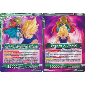 Babidi & Prince of Destruction Vegeta, Mightiest Majin / Vegeta & Babidi