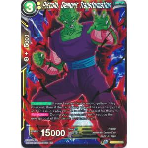 Piccolo, Demonic Transformation