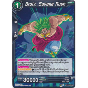 Broly, Savage Rush