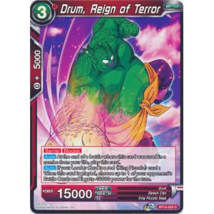 Drum, Reign of Terror
