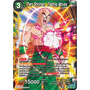 Tien Shinhan, Trading Moves