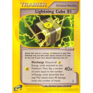 Lightning Cube 01 - 127/147