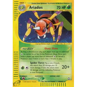 Ariados - H3/H32