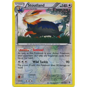 Stoutland - 122/149 (Reverse Foil)