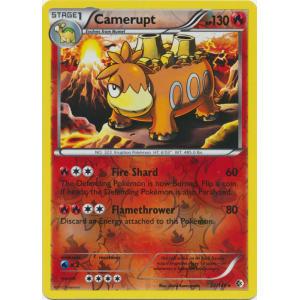 Camerupt - 22/149 (Reverse Foil)