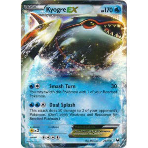 Kyogre-EX - 26/108