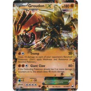 Groudon-EX - 54/108