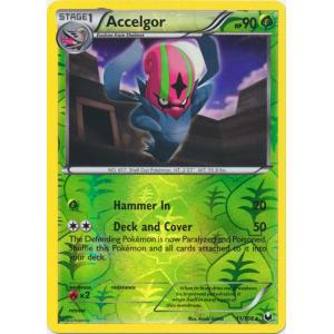 Accelgor - 11/108 (Reverse Foil)
