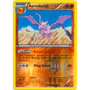 Aerodactyl - 53/108 (Reverse Foil)