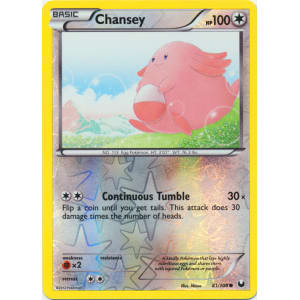 Chansey - 81/108 (Reverse Foil)