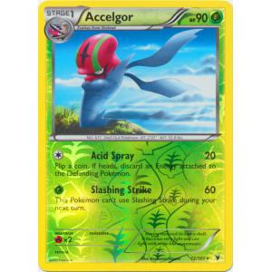 Accelgor - 12/101 (Reverse Foil)