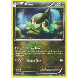 Axew - 67/101 (Reverse Foil)