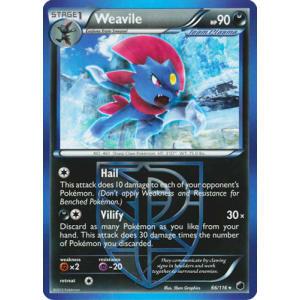 Weavile - 66/116