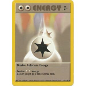Double Colorless Energy - 124/130